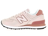 baskets basses new balance wl574 rose9081205_4