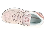 baskets basses new balance wl574 rose9081205_5