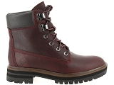 boots et bottines timberland london square rouge9083502_2