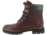 boots et bottines timberland london square rouge9083502_4
