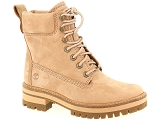 KOST VIF35 TIMBERLAND COURMAYEUR VALLEY YB:Cuir/BEIGE/-/Textile/Caoutchouc Gomme