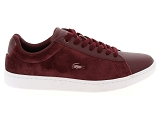 baskets basses lacoste carnaby evo 318 5 rouge9085103_2