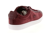 baskets basses lacoste carnaby evo 318 5 rouge9085103_3