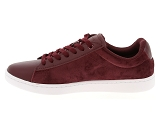 baskets basses lacoste carnaby evo 318 5 rouge9085103_4
