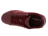 baskets basses lacoste carnaby evo 318 5 rouge9085103_5