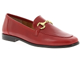 FAGUO CYPRESS SUEDE CUIR MARION TOUFET FARO2:Cuir/ROUGE/-//