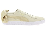 baskets basses puma wn bow beige9107301_2