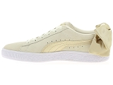 baskets basses puma wn bow beige9107301_4