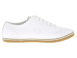 baskets basses fred perry kingston blanc9113103_2