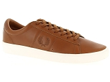 LEMON JELLY PIZA FRED PERRY SPENCER WAXED:Cuir/TAN/-//