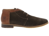 chaussures a lacets kost albe76 marron9121601_2