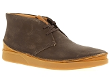 INUOVO 121012 CLARKS OAKLAND RISE:Cuir/MARRON/-//
