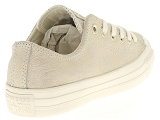 baskets basses converse ctas ox metallic beige9135102_3