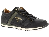 FRED PERRY KINGSTON PANTOFOLA  DORO MATERA UOMO:Cuir/NOIR/-//