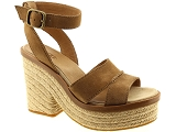 LUCIANO PADOVAN LP0096 UGG CARINE:Nubuk/CAMEL/-/Cuir/Caoutchouc Gomme