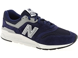 AIR STEP AS98 208301 NEW BALANCE CM997:Cuir/MARINE/-/Textile/Caoutchouc Gomme