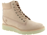 TIMBERLAND KENNISTON 6IN<br>Cuir & Nubuck ROSE PALE - Cuir Caoutchouc Gomme