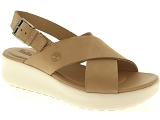 FLECS M230 TIMBERLAND LOS ANGELES WIND SLINGBACK:Cuir/BEIGE/-/Cuir/Caoutchouc Gomme
