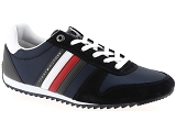 COCO & ABRICOT V1221A TOMMY HILFIGER ESSENTIAL NYLON RUNNER:Nubuk et Textile/MARINE/-//