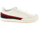 baskets basses le coq sportif court clay blanc9177801_2