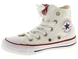 KOST SARRE 76 CONVERSE CHUCK TAYLOR ALL STAR:Toile/BLANC/-/Textile/Caoutchouc Gomme