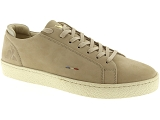 baskets basses le coq sportif club beige9187902_1