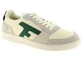 FRED PERRY 5184 FAGUO:Textile/BLANC/VERT/-//