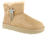 UGG MINI BAILEY STAR<br>Nubuk SABLE - Fourrée EVA