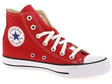 CHUCK TAYLOR ALL STAR<br>Toile ROUGE - Textile Caoutchouc Gomme