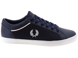 baskets basses fred perry 5151 bleu9301802_2