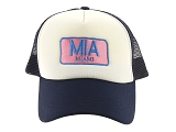 TRAVEL CAP TRAVEL CAP MIAMI<br>Bleu