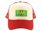 TRAVEL CAP TRAVEL CAP MARRAKECH<br>Rouge