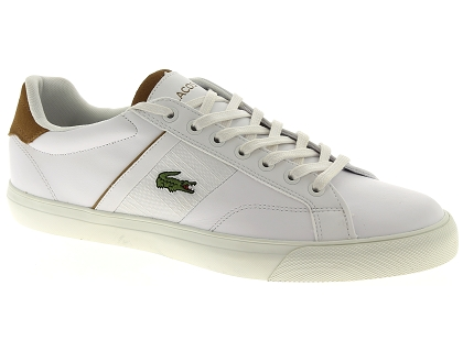 baskets basses lacoste fairlead blanc