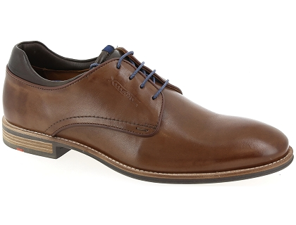 chaussures a lacets lloyd massimo marron