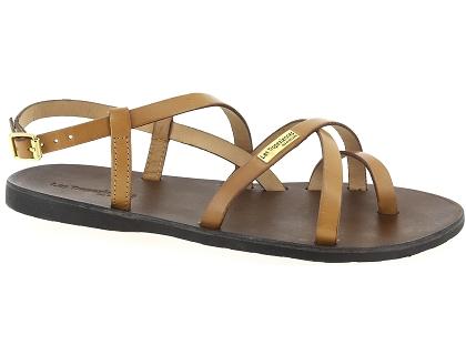 Les sandales et nu pieds les tropeziennes hava orange