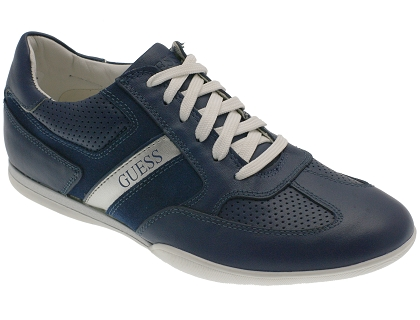 Guess Les Lea12 Chaussures Homme Fm1lak Baskets Montantes Bleu ww8TqFCS