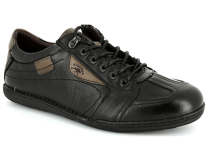 Les chaussures a lacets fluchos 8300 noir chaussures homme