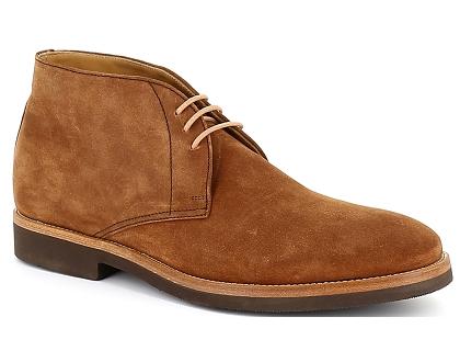 04cdd5d5ea Les boots chauss montantes pm toledano 302 199 nubuk marron ...