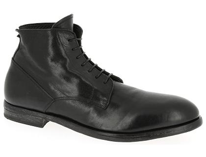 8cae39def74 Les boots et bottines moma 52502 noir - chaussures homme 299.00 ...