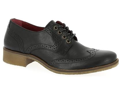 Les chaussures a lacets kickers londonesk 444550 noir
