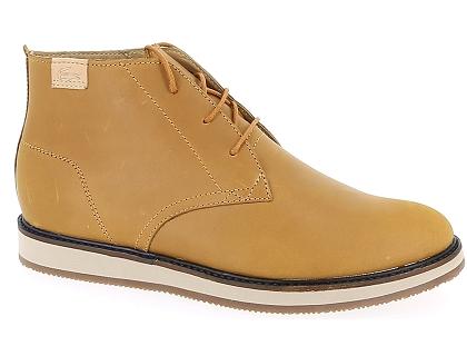 7b483b39f1 Les boots et bottines lacoste millard chukka marron - chaussures ...