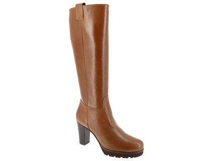 a4bb4d1720c575 Les bottes gadea 39986 marnib marron - chaussures femme 199.00 ...