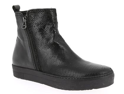 8d3ef4790b3 Les boots et bottines mjus 7852 401 noir - chaussures femme 149.00 ...