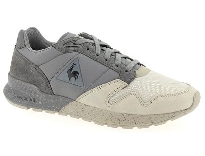 5bc14a3037a Les baskets basses le coq sportif omega x ou gris - chaussures homme ...