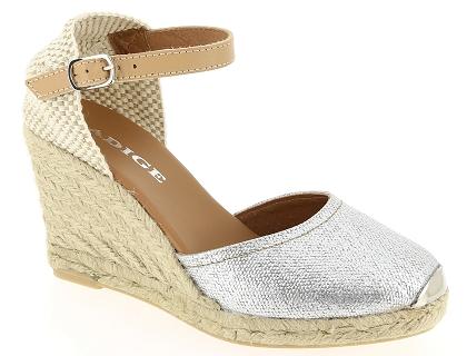 0cefb17a28df1b Les sandales et nu-pieds adige aria argent - chaussures femme 95.00 ...
