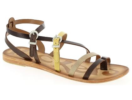 8e5aa09538a0 Les sandales et nu-pieds kickers newsweek bleu - chaussures femme ...