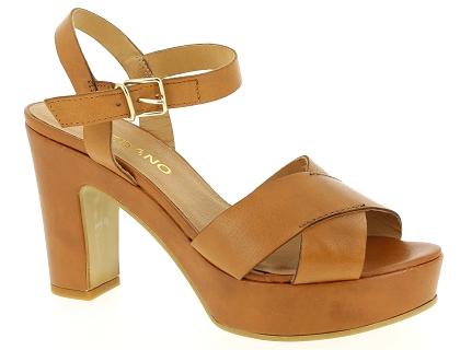 729d7a04a35a Les sandales et nu-pieds toledano ds 52492 marron - chaussures femme ...