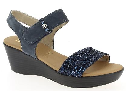 6601 Dorking Chaussures 00 Et Bleu Pieds Femme Sandales Les 75 Nu zVqUMSGp