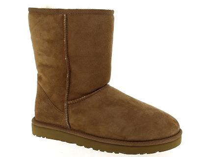 941d3ea7083 Les bottes ugg classic short marron - chaussures femme 199.00 ...