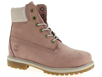 f32b8cecbc86 Les boots et bottines timberland ca196b 6in prem boots femme rose ...